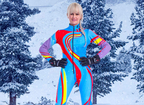 Emma Parker Bowles on The Jump 2017