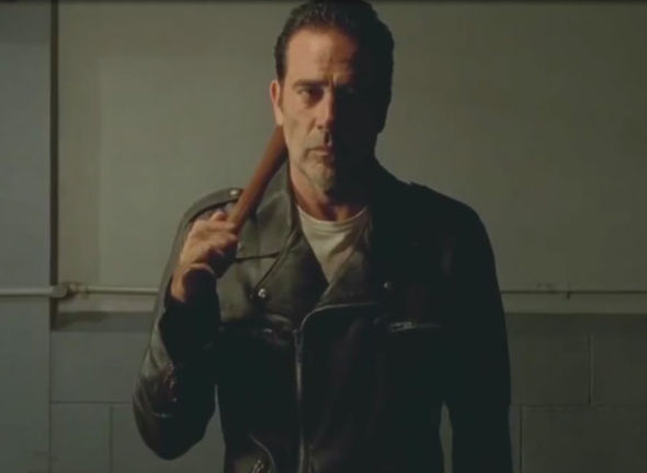 Negan from The Walking Dead