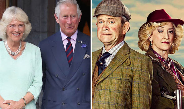 The Windsors: Harry Enflied and Haydn Gwynne as Prince Charles and Camilla