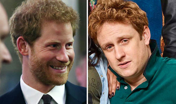 The Windsors: Prince Harry and Richard Goulding