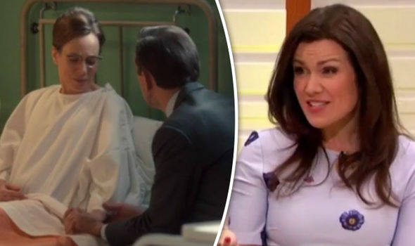 Shelagh Turner (Laura Main) and Susanna Reid