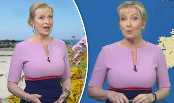 BBC weather: Carol Kirkwood wows as she flaunts curves in ...