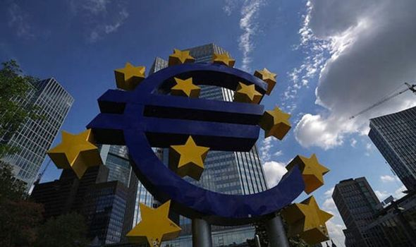 Euro plunges to three-year low as coronavirus threatens to PARALYSE world financial system
