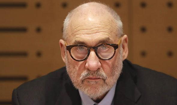 Joseph Stiglitz, Nobel Prize winner   Bitcoin price LIVE: BTC slumps AGAIN – prices expected to 'die' at $43, says expert   City & Business   Finance Joseph Stiglitz Nobel Prize 1417745