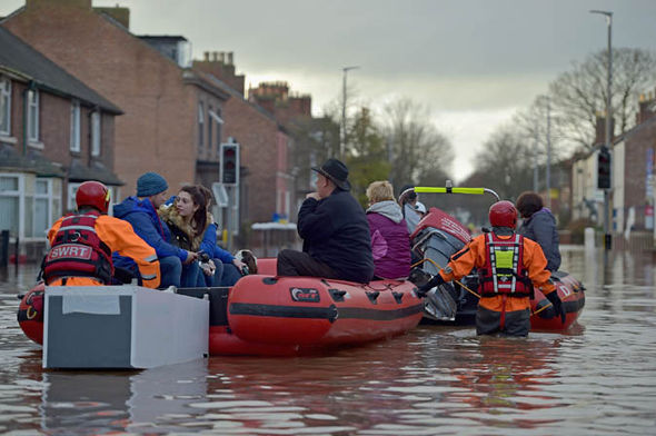 Storm Desmond  Building up flood defences: How coverage important points can muddy the waters flood 409048
