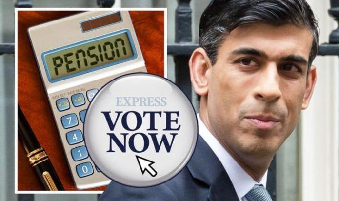 Pension POLL: Should triple lock be broken if pensions rise 8% under rule? VOTE