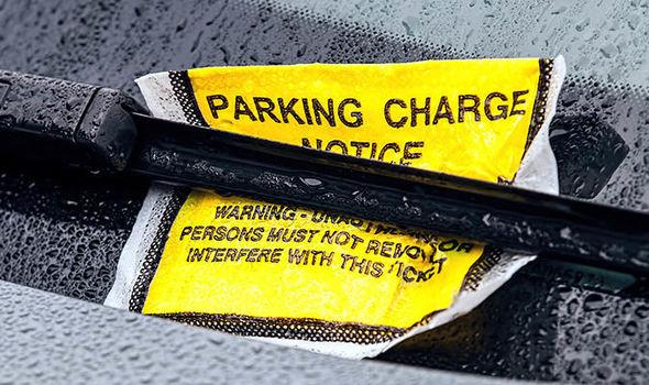 Parking fine