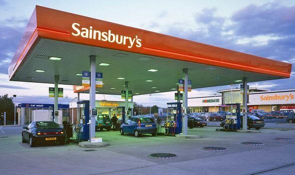 Image result for sainsburys petrol station