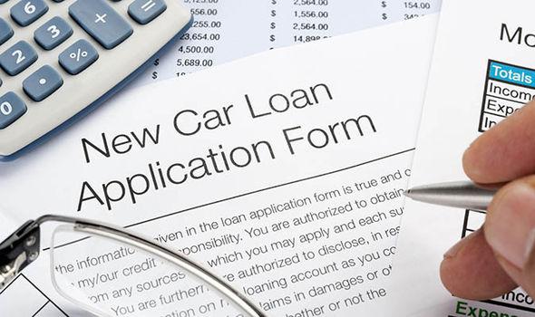 Car finance form
