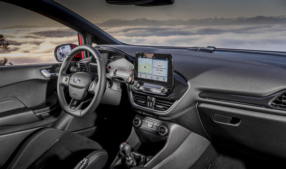 Inside the Ford Fiesta