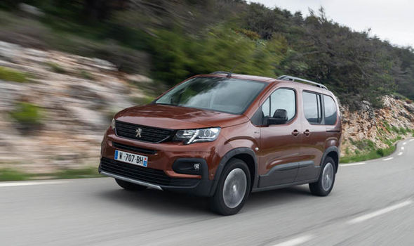 Peugot Rifter Price: from £17,500