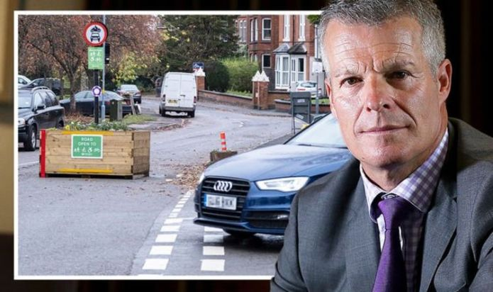 Low Traffic Neighbourhoods to cause 'congestion' and 'frustrate' locals warns Nick Freeman