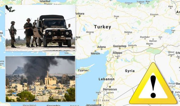 Turkey holidays: Britons issued journey warning as Turkey bombs Syria – how protected is it? 1188553 1