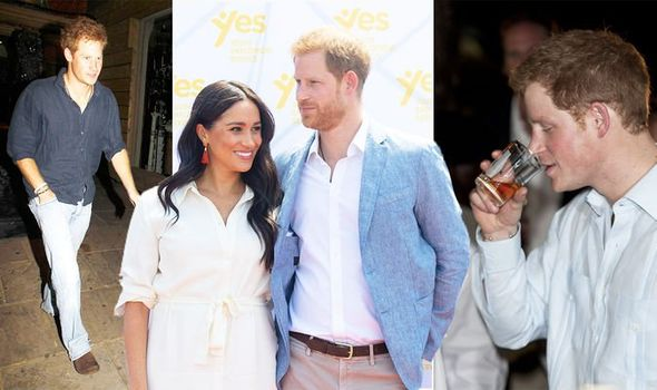 Prince Harry and 'glamorous brunette' sparked 'upset' on vacation earlier than Meghan Markle 1188678 1