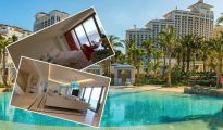 Inns: Look contained in the four,000 sq ft luxurious Presidential Suite favoured by Richard Branson 1203594 1