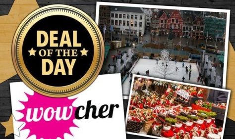 Save 51 percent off Bruges Christmas Market day trip from UK – less than £50
