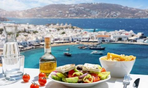 Gordon, Gino & Fred Go Greek! The stunning locations in Greece the three foodies visit