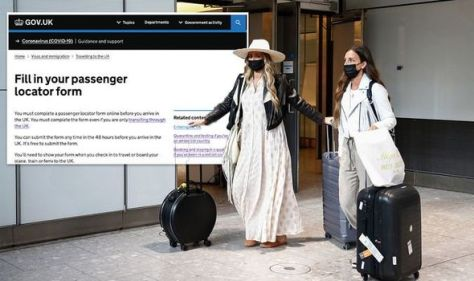 How to fill out the UK passenger locator form - full step-by-step guide