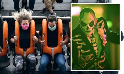 The UK theme parks get a Halloween makeover – scare mazes and thrilling rides