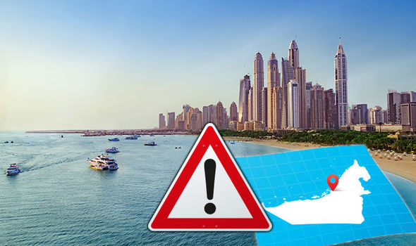 Dubai travel warning holidays 2018