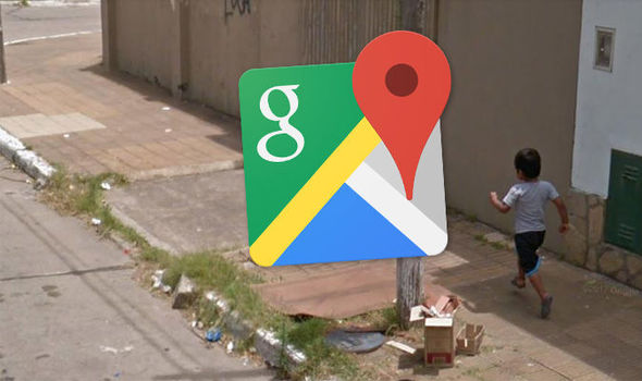 Google Maps Street View embarrassing fall over