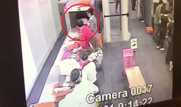 Security guard steals money