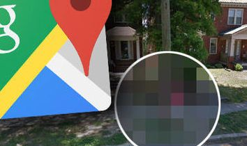 HD Decor Images » Google Maps street view shows man slamming into a telephone pole in     google maps street view embarassing painful picture