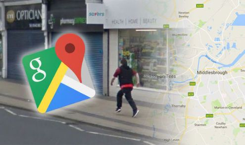 Google Maps Street View catches woman doing THIS illegal activity in     google maps street view shoplifter