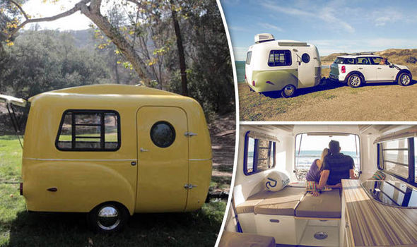 The Coolest Way To Hit The Road Retro Campervan Taking
