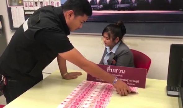 Bangkok security guard