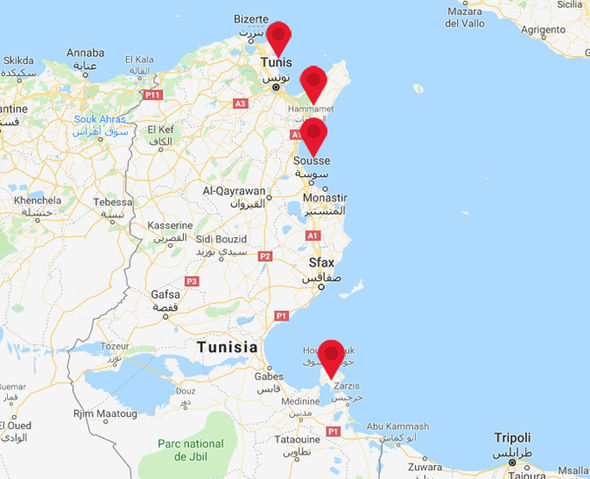 Where Is It Safe To Go In Tunisia Hammamet Tunis Sousse Travel - Where is tunisia