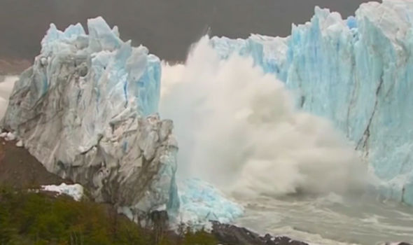 Watch: Perito Moreno Glacier
