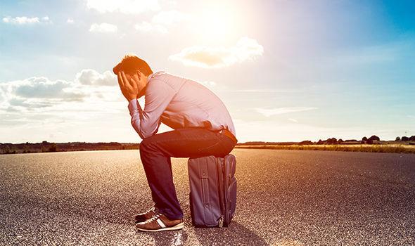 cancelled flights passenger sad