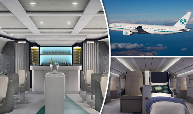 Crystal Air On Board The World S Most Luxurious