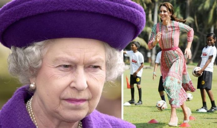Kate Middleton: Queen Elizabeth disapproves of Duchess's fashion choice when travelling