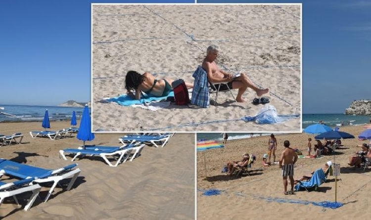 Spain holidays: Benidorm ramps up beach restrictions in time for summer