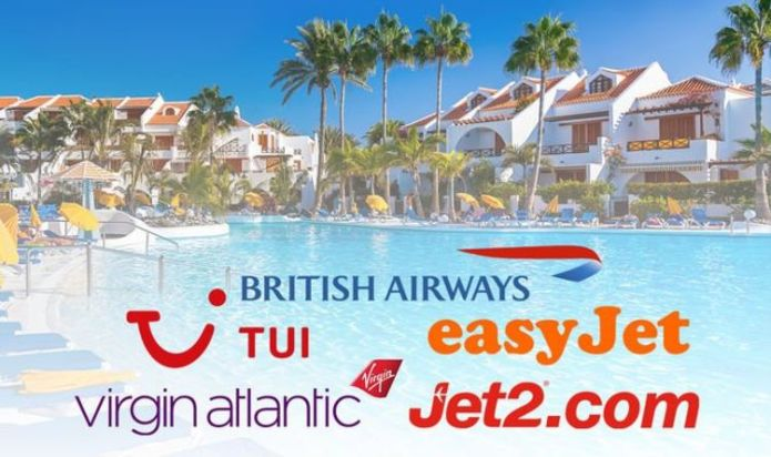Package holidays: TUI, British Airways, easyJet, Jet2 and Virgin Atlantic latest updates