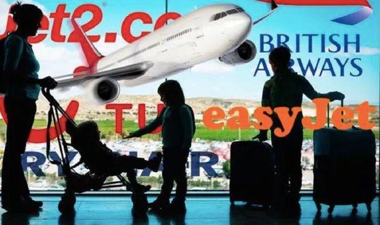 Flights: easyJet, Ryanair, Jet2, BA & TUI updates ahead of travel restart announcement