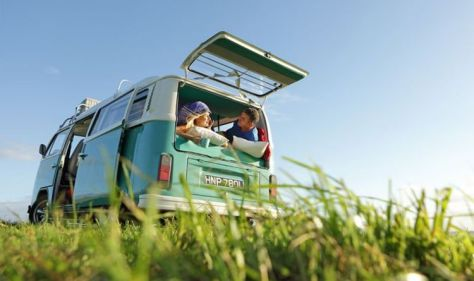 Camping and caravan holidays: 'Record year' for campervan rentals amid 'staycation craze'