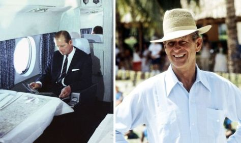 Prince Philip's very honest 'loo' trick for coping with public appearances when travelling
