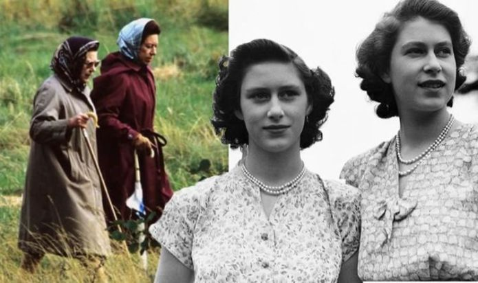 Queen Elizabeth & Princess Margaret's holiday antics left them 'giggling like school girls