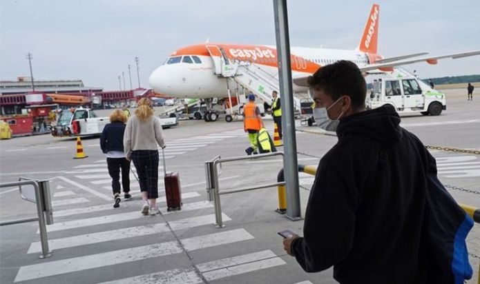 easyJet has no plans to axe face masks even if Prime Minister lifts rule on July 19