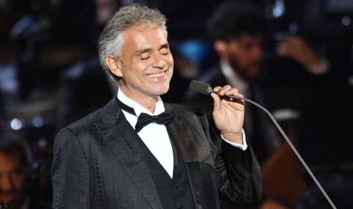 Andrea Bocelli on his two favourite songs of all time – 'I am never tired of singing it'