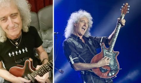 Queen guitarist Brian May posts cryptic message 'Something good is coming!' – 'Eeek!'