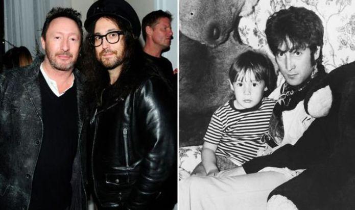 John Lennon estate and Sean Lennon celebrate Julian Lennon's birthday with childhood snaps