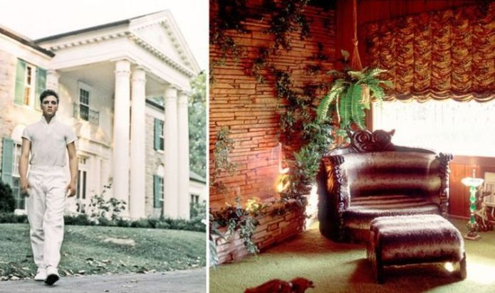 Elvis Presley: Surprising contents inside The Jungle Room's treasure chests at Graceland