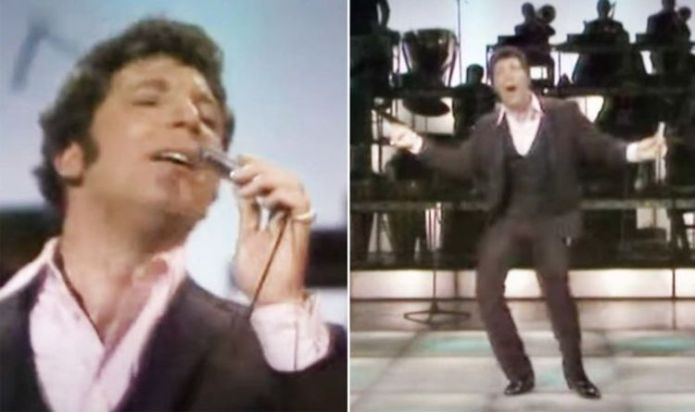Tom Jones shares his 1969 TV performance of Chuck Berry's Johnny B Goode – WATCH
