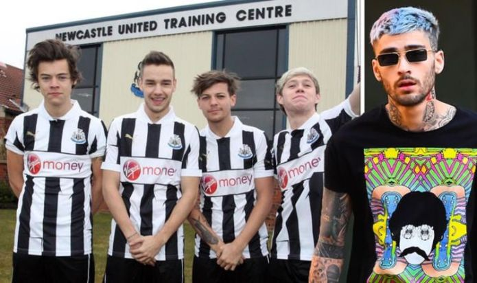 One Direction: Zayn Malik missed football photo opportunity due to 'feeling unwell'