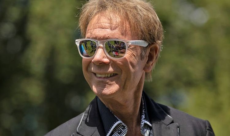 , Cliff Richard poses in swimming trunks in his Barbados villa for his new calendar, The Evepost BBC News