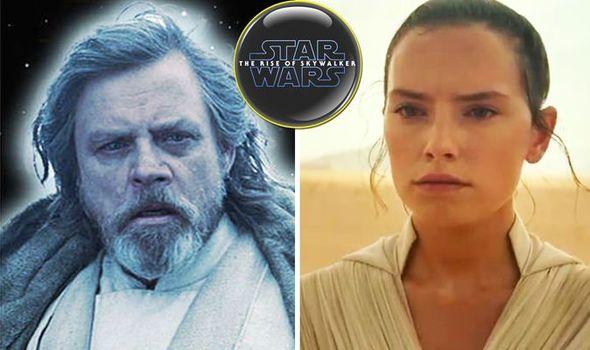 Star Wars 9 Rise of Skywalker LEAKED:Luke Skywalker Power ghost scene with Rey revealed? 1177672 1
